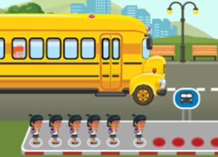 Der Zehner-übergangsbus