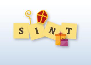 Letterplank Sinterklaas