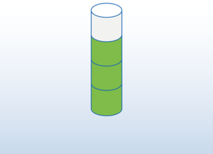 Fraction cylinder