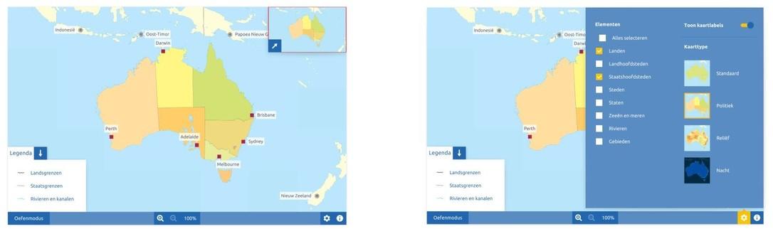 Topografie Australië