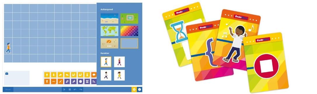 CodeWise tool combineren met het kaartspel