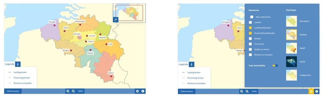 Topografie België