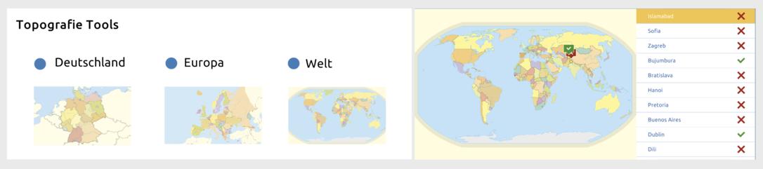 Topografie-Tools