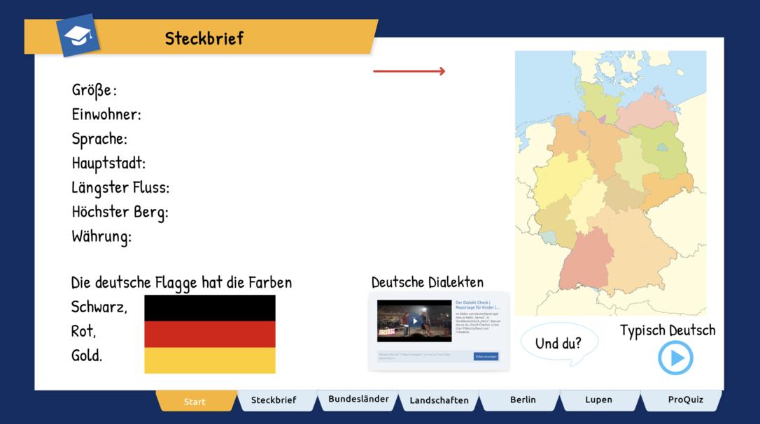 Wir erkunden Deutschland
