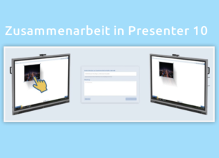 Zusammenarbeiten in Presenter 10