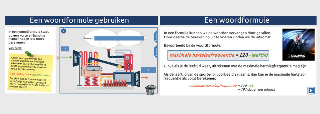 Formules 1 - Theorie