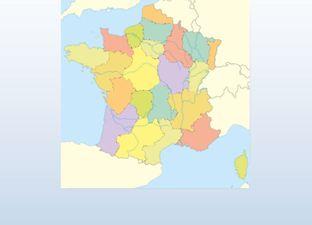 Topografie Frankrijk