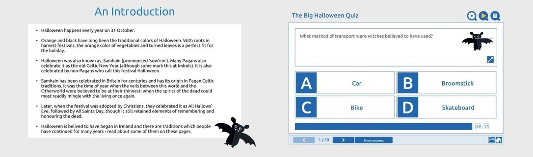 The big Halloween Quiz!