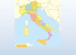 Topografie Italië
