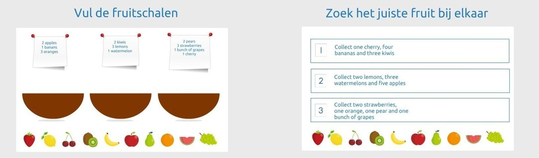 Engelse les 'Fruit'