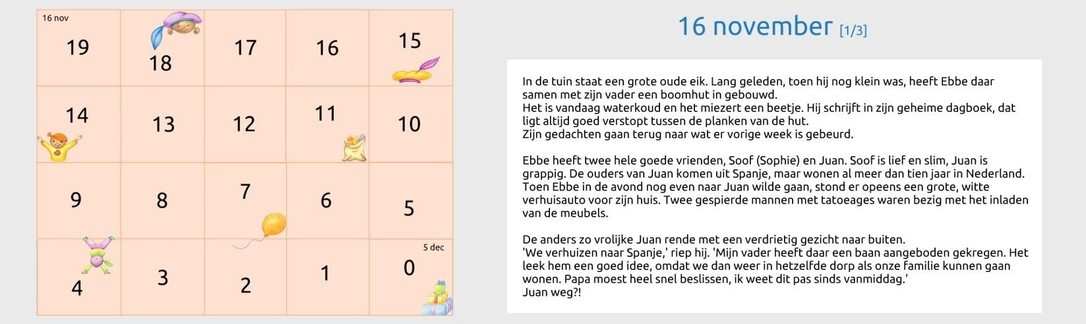 Sinterklaas aftelkalender 2018