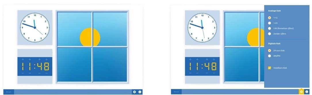 Klok dag en nacht