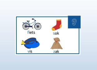 Les f- of v- en s- of z- woorden gr 5
