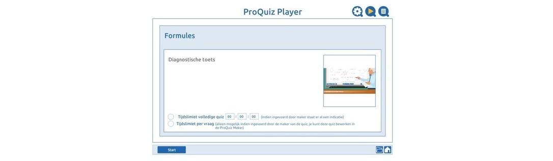 Diagnostische toets formules 2