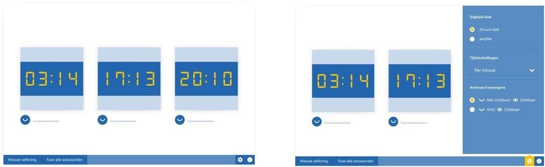 Klokkijken digitaal