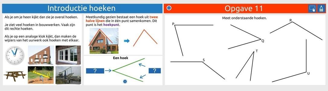 Hoeken: meten, tekenen en berekenen