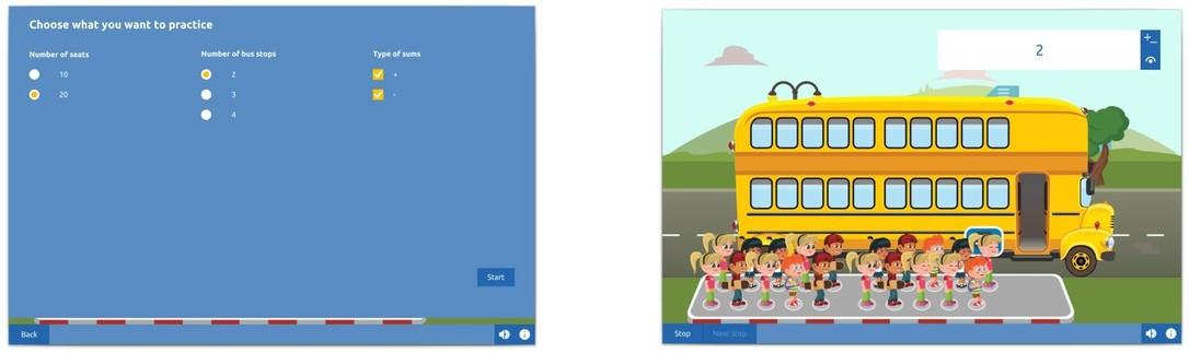 Bus stop Practice mode