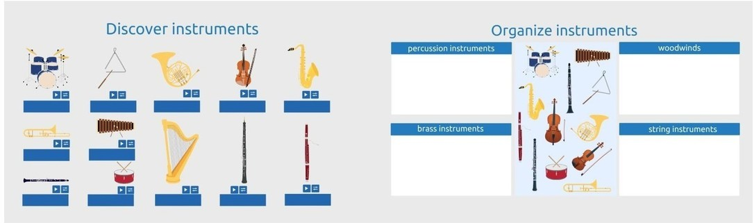 Musical instrument orchestra