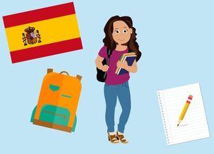 Spaanse les 'school'