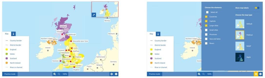 Topography United Kingdom