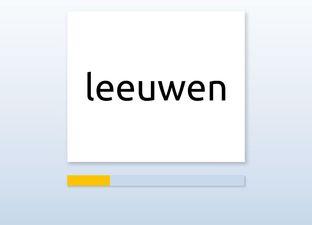 Spelling E5 eeuw, ieuw, uw woorden