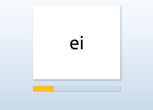 Spelling E4 ei woorden