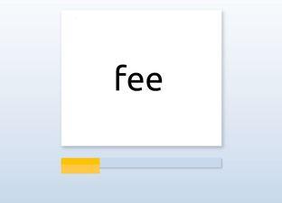 Spelling M4 woorden die beginnen met een f