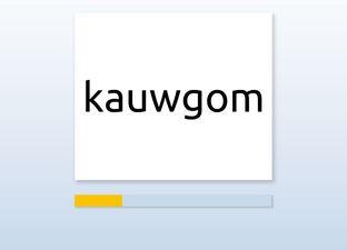 Spelling E6 au woorden