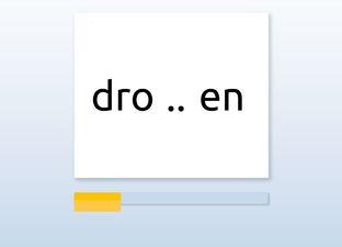 Spelling M6 -nk woorden*