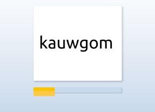 Spelling M6 au / ou woorden