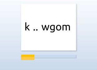 Spelling M6 au / ou woorden*