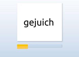 Spelling M6 ch en cht woorden