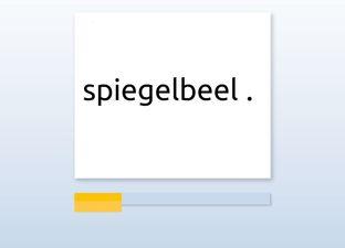 Spelling M6 d woorden*