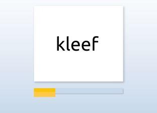 Spelling M6 van f naar v woorden