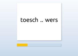 Spelling E6 ou woorden*