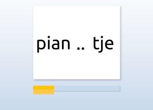 Spelling M7 aa / oo / uu / nk woorden*