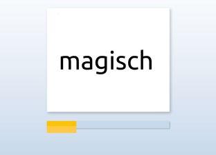 Spelling M7 isch woorden