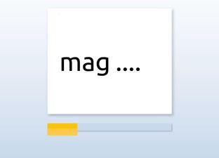 Spelling M7 isch woorden*