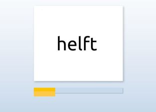 Spelling E4 kleefletters