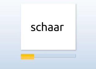 Spelling E4 sch woorden