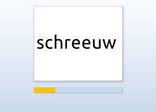 Spelling M5 schr woorden