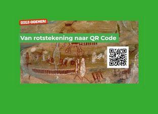 Van rotstekening naar QR-code