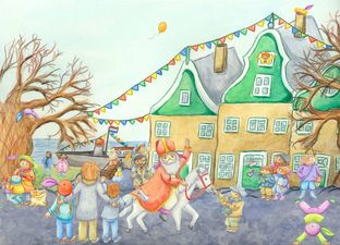 Vertelplaat 'Sinterklaas'