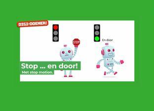 Stop...en door!