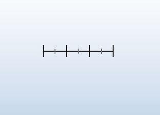 Lege getallenlijn