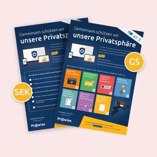 Datenschutz und Privatsphäre: Poster zum Herunterladen und Diskutieren
