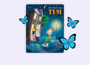 Het bed van Tim