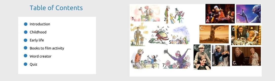 Share a story Roald Dahl