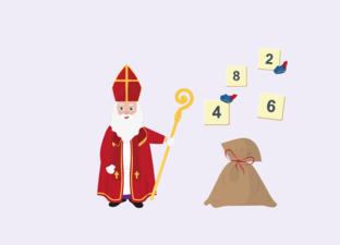 Tellen tot 10 - Sinterklaas