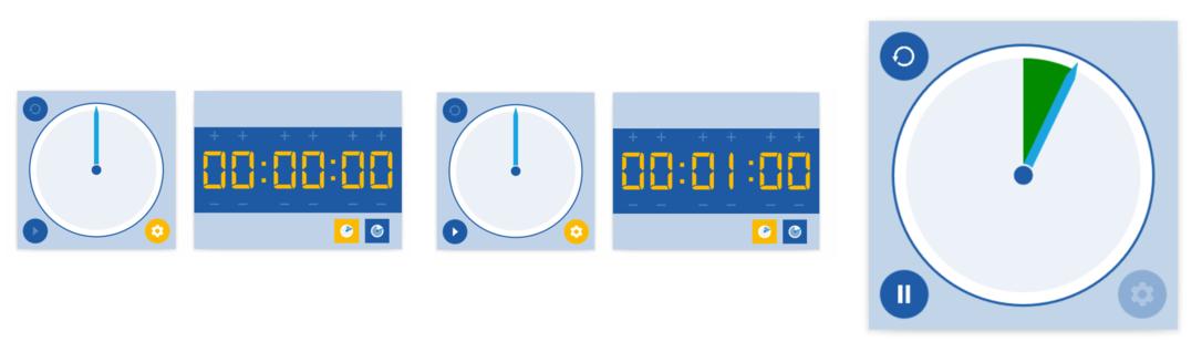 Blank timer